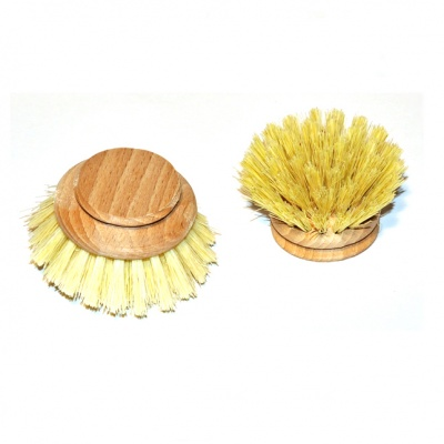 Wooden Dish Brush Head - Replacement Head